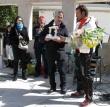 Il sindaco Antonio Guida premia il vincitore Paolo Colonna