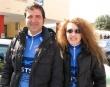 La ciclista Mirella Pisani con il marito Daniele Abalsamo