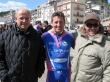 Michele Galante con Francesco Caporusso e Leonardo Pozzovivo (padre del noto ciclista Domenico)