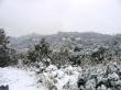 Tursi ricoperta di neve 0