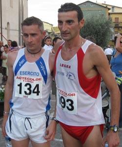 Donato Becce (a dx) e Pasquale Rutigliano (a sx)